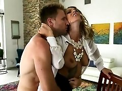 Hot Horny MILF Gets Finger...