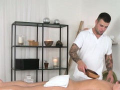 Masseur with big cock...